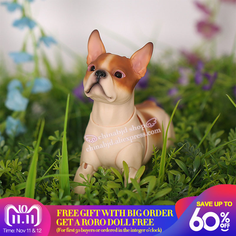 BJD Doll Iplehouse IP Boston dog pet sd yosd dolls 1/6 body model pets bjd High Quality resin toys free eyes shop oueneifs стоимость