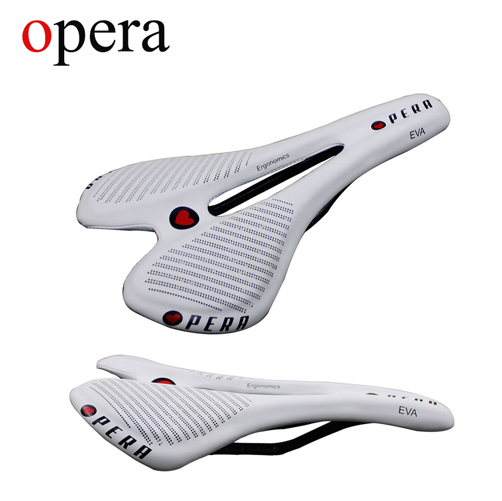 OPERA Bicycle Bicycle Seat Carbon Fiber Bicycle Full Mountain MTB Saddle Bicycle Road Seat Comfortable Seat