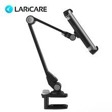 LariCare soporte para teléfono de escritorio. Soporte Universal para tabletas y teléfonos de 4 11 pulgadas. Base de succión y soporte de Base de Clip. Soporte de aleación de aluminio