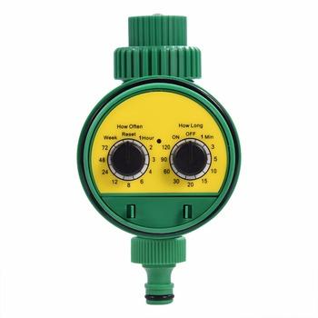 Automatyczne elektroniczne podlewanie ogrodu zegar sterownik nawadniania zawór elektromagnetyczny System nawadniania podlewanie ogrodu tanie i dobre opinie EECOO Analogowe Z tworzywa sztucznego Irrigation Timer Ogród wodny timery
