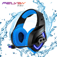 2017 New Onikuma K1B PC Game Headset For PS4 XBOX A 3 5mm Stereo USB LED