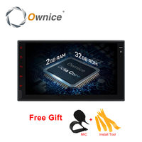 7 Full Touch Quad Core Android 4 4 Unversal 2 Din Car DVD Player GPS Navigation
