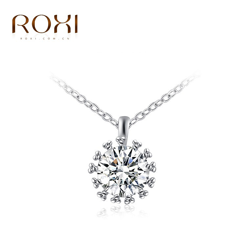 2017 ROXI Gold Color Drop Water necklaces,AAA zircon,fashion jewelry ...