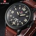 NAVIFORCE Lujo Top Marca hombres Deportes Relojes Moda Casual Reloj de Cuarzo de la Muñeca Militar Hombres Reloj Masculino Relogio Del Reloj