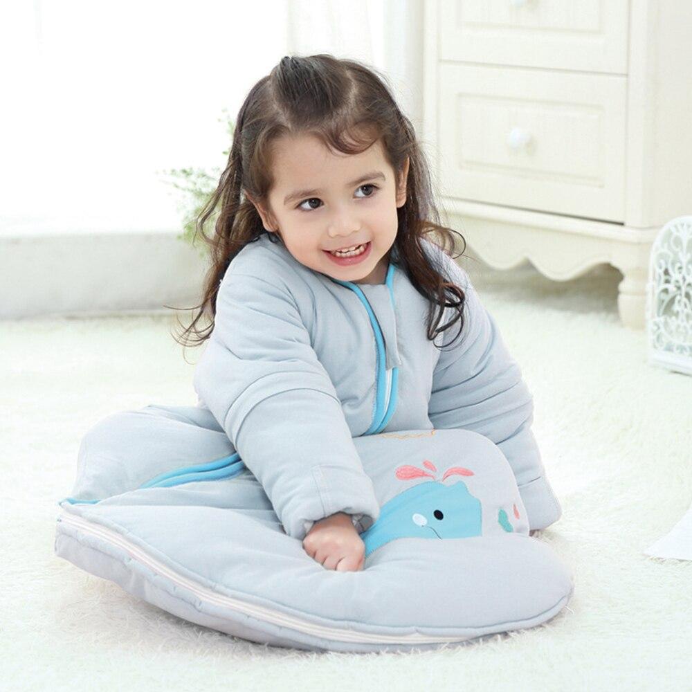 Devoted Baby Sleeping Bag 0-5y Winter Baby Cocoon Whale Pattern Detachable Sleeve Zipper Sleep Bag Diaper Cocoon For Newborns Sleepsack Sale Overall Discount 50-70% Boys' Baby Clothing