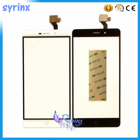 "SYRINX 5.5 "" Mobile Phone For Elephone P9000 Touch Screen Panel Digitizer Sensor Touch Front Glass Touchscreen 3M Stickers Pakistan"