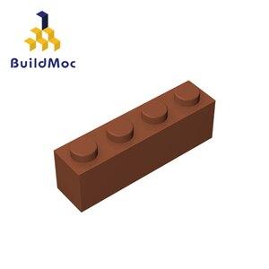 Image 3 - Buildmoc互換アセンブル粒子レンガ3010 1 × 4ビルディングブロックの部品diyロゴ教育創造ギフトのおもちゃ