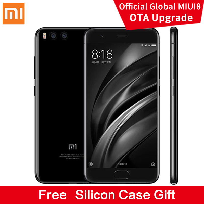 "New Original Xiaomi Mi6 Mi 6 Mobile Phone Snapdragon 835 6GB RAM 64GB ROM Octa Core 5.15"" 12MP 1920x1080p NFC Fingerprint ID FDD"