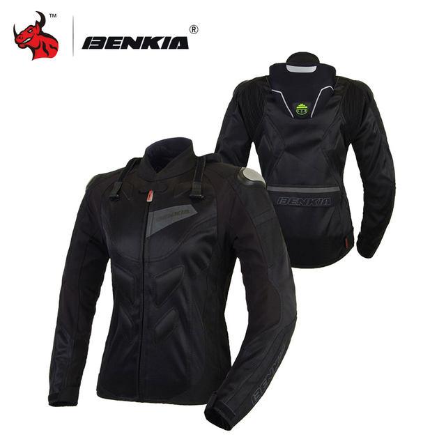 Veste Respirant Racing De Benkia Femmes Motocross Vestes Moto Oq5n6Ua