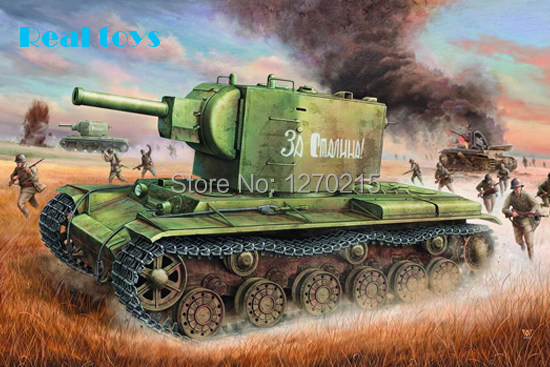 trumpeter 00312 1/35 Russian KV-2(1940)Tank