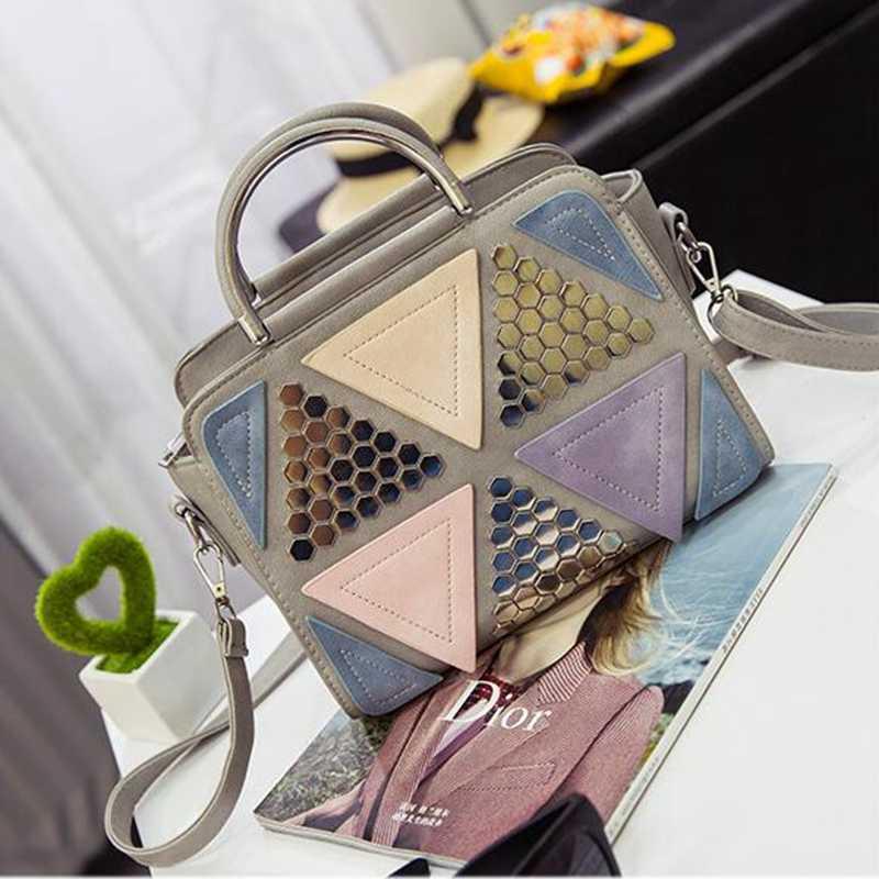 Модные шикарные Лоскутные сумки-шопперы для женщин роскошная сумка через плечо дизайнерский клатч известного бренда сумки bolsas PP-426
