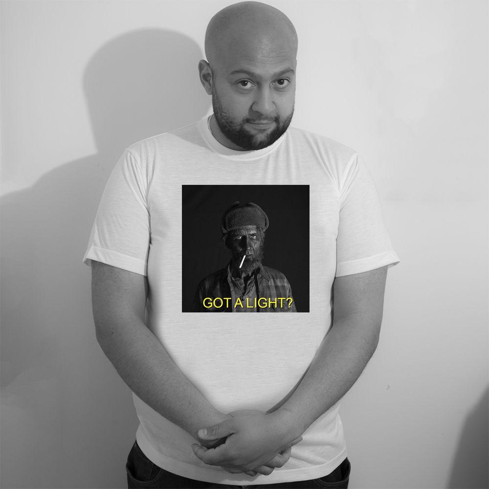 Gildan Twin Peaks Got a Light? T -Shirt  The Woodsman  David Lynch