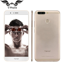 """Оригинальный Huawei Honor V9 4 г LTE мобильный телефон 5.7 """"2560×1440 6 ГБ Оперативная память 128 ГБ Встроенная память kirin960 Восьмиядерный двойной 12.0MP Камера смартфон"""