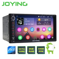 JOYING PX5 Octa Core 2GB 32GB HD 7 Double Din Android 6 0 Car Radio Audio