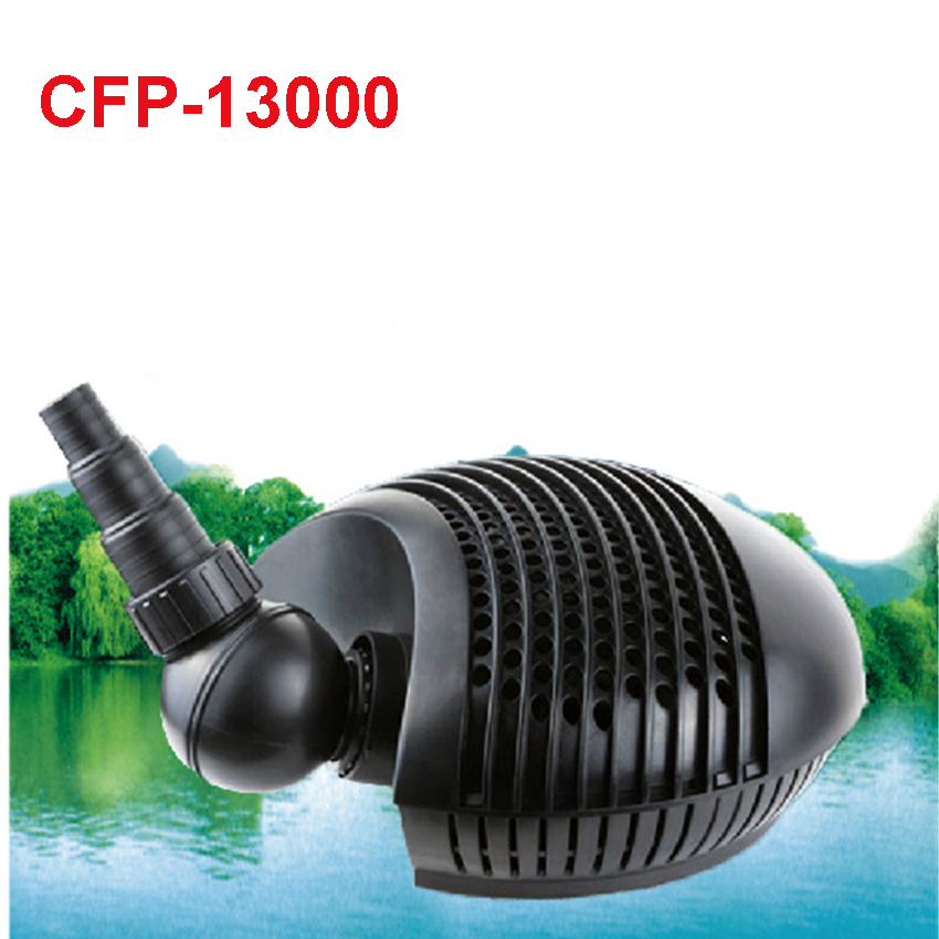CFP-13000 Pond water pump 13000L/H Garden Pond Pond Filter Pump 180W/220V Submersible Pump 32MM/38MM/25MM Water outlet diameter средство sera pond omnisan against fungus and parasites in garden pond для борьбы с грибками и паразитами в пруду 5л