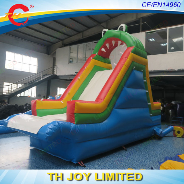 6x2x4m Kids Inflatable Pool Slide, Inflatable Water Slide For Pool