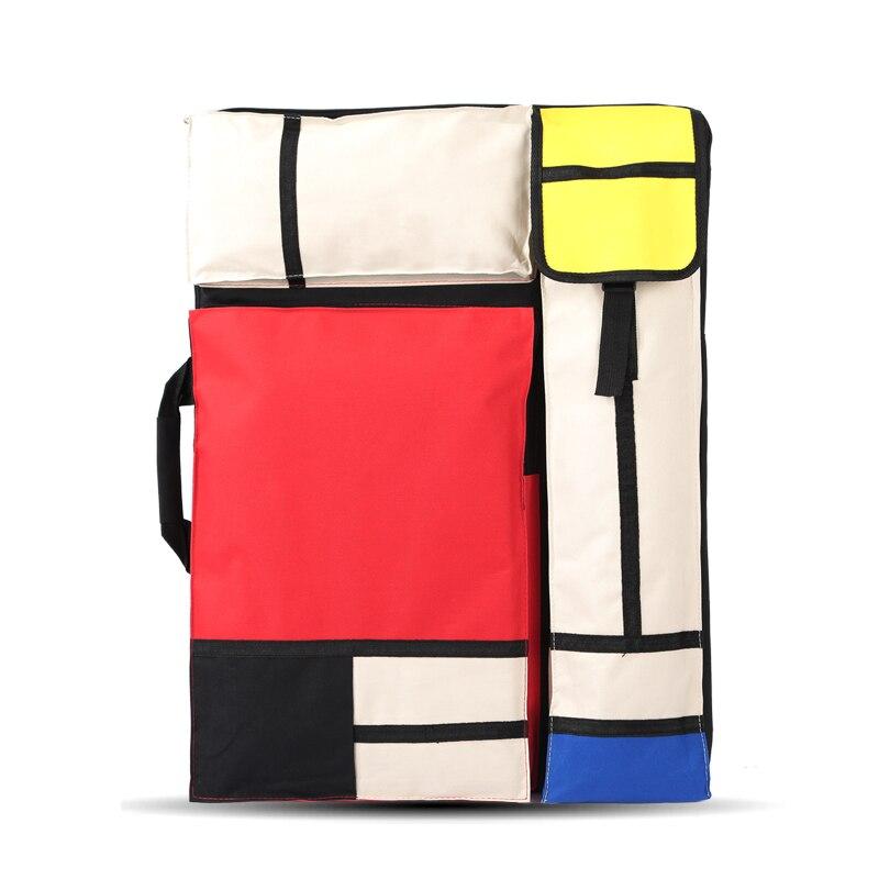 Grand sac d'art pour planche à dessin peinture ensemble voyage croquis sac pour croquis outils toile peinture Art fournitures pour artiste