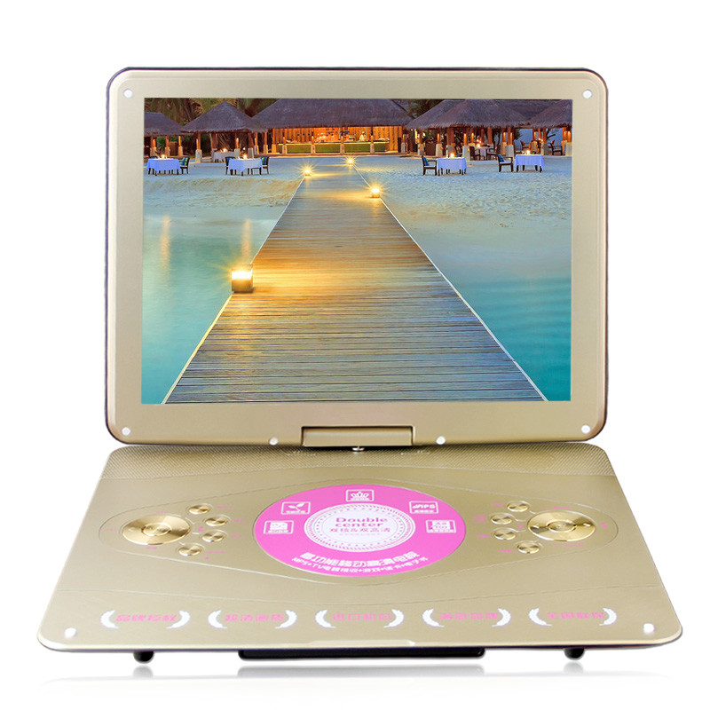 20 inch mobile DVD LCD Srceen Portable VCD EVD Player with TV Player Card Reader Widescreen