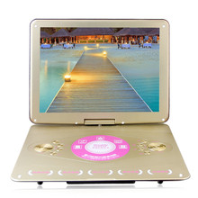 20 inch mobile DVD LCD Srceen Portable VCD EVD Player with TV Player Card Reader Widescreen disc player 3D effects Game Speaker