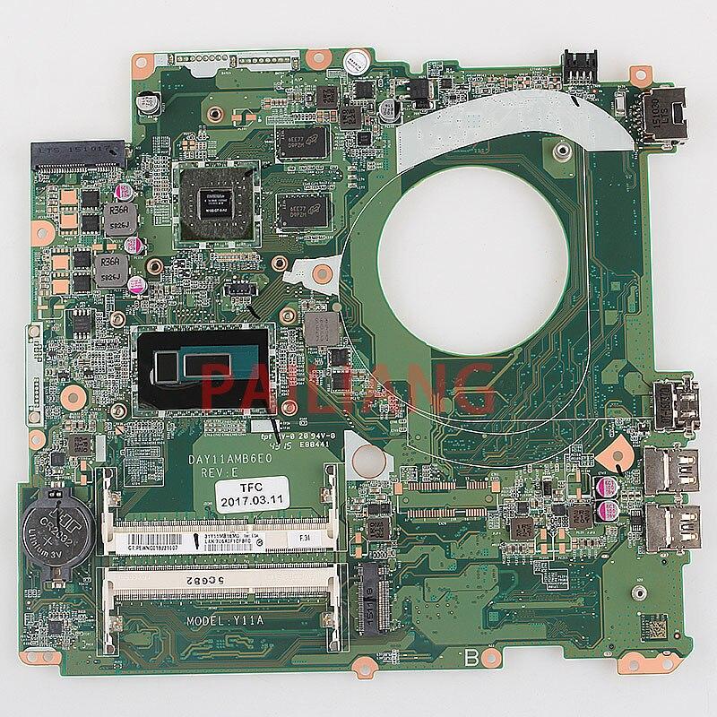 Carte mère d'ordinateur portable pour HP pavillon 17-F I5 PC carte mère DAY11AMB6E0 full tesed DDR3
