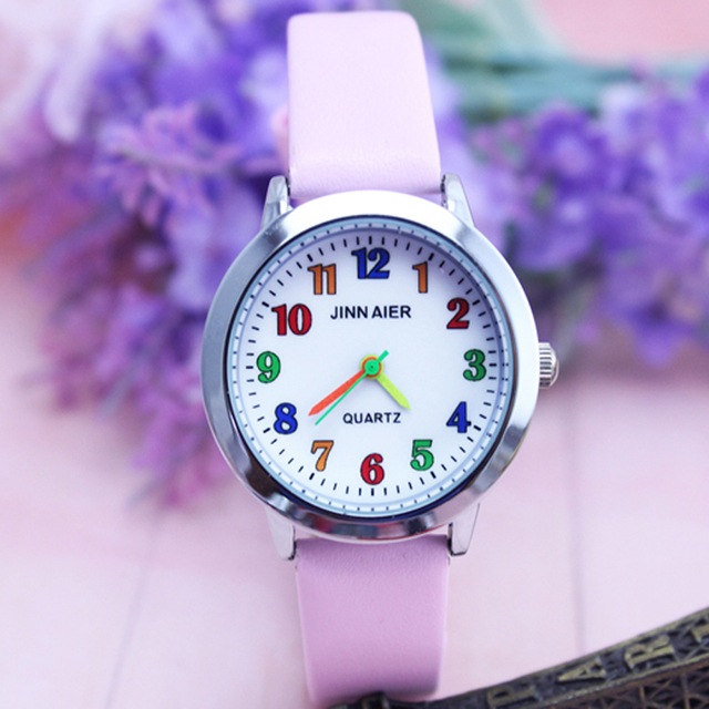 Fashion Brand Children Quartz Watch Kids Watches For Boys Girls Students Cute Wr