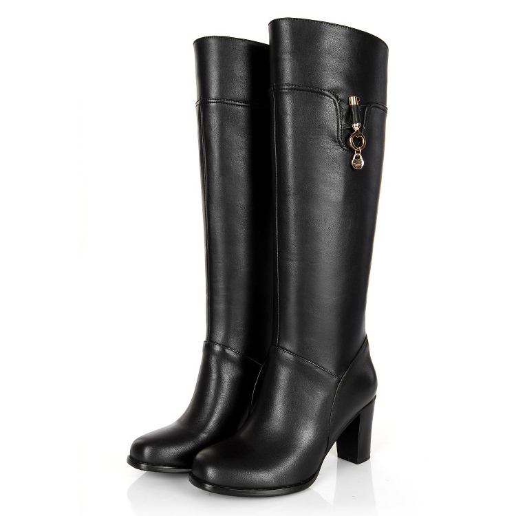 Free shipping 2017 new women riding boots winter fashion Knee-high boots Tall side zipper knight boots plus size 30-45 free shipping south korean style winter new nubuck fashion high heels round toe side zipper lace up riding boots women boots