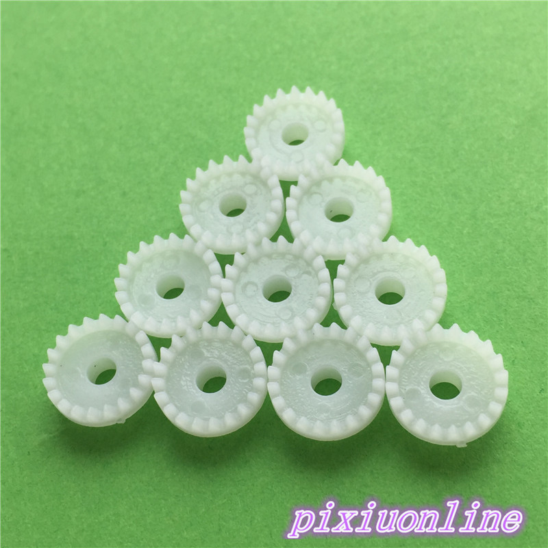 10pcs K069Y C203A Mini Plastic Crown Gear Model DIY Toys Robot Parts High Quality On Sale