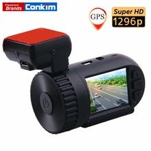 Best Buy Conkim Dash Cam Ambarella A7LA50 Super HD 1296P Mini 0805 Auto Car DVR Camera Recorder GPS Logger+G-SENSOR+WDR/HDR+ LDWS