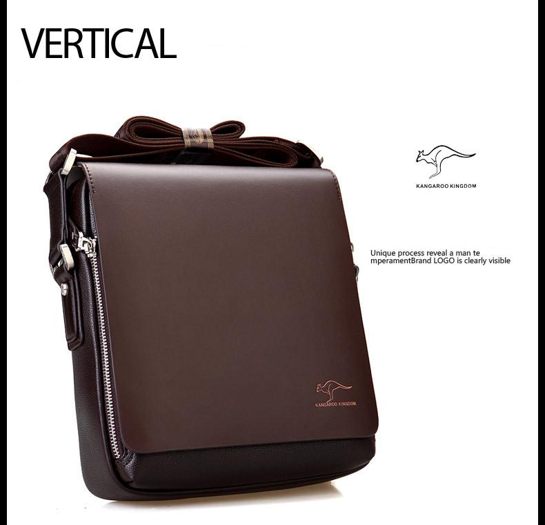 New Arrived luxury Brand men's messenger bag Vintage leather shoulder bag Handsome crossbody bag handbags Free Shipping 10