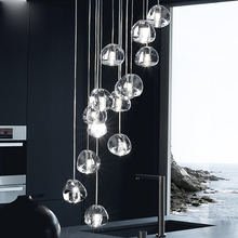 GETOP Water Drop Crystal Creative Light European-style Luxury LED Lamps Modern Indoor Ceiling Lighting Fast Ship