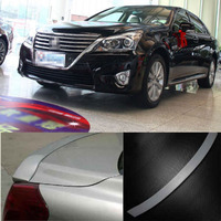 Ipoboo Brand New Sports Grade Intensity Twist PU Made Spolier Wings For Toyota Crown 13th 2010 2012