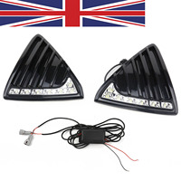 TAIHONGYU Pair LED DRL Daytime Running Light Fog Head Lamp Fit For Ford Focus 2011 2012 2013 2014 UK Ship