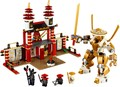 Игрушки для детей КИТАЙ БРЕНДА 97126 самоконтрящимися кирпича Совместимость с Lego Ninjago Храм Света L70505 не оригинал коробка