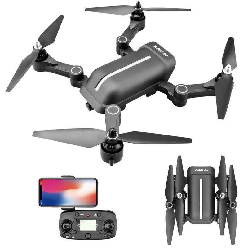 S3 5.8G Remote Control Brushless Quadcopter GPS Surround Folding Drone Fixed Point Follow Return Aerial Photography with 5G Pict