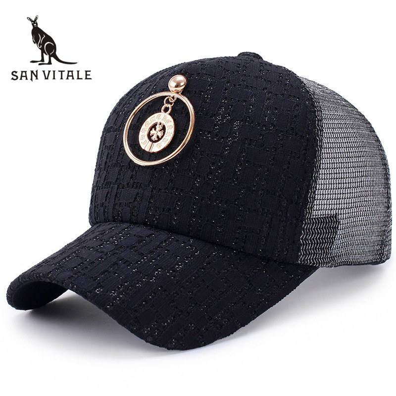 Baseball Cap For Women Hats Fashion Cap Ratchet Snap back Vintage Hip Hop Golf Bone Pokemon K-Pop Casquette for Girls Black