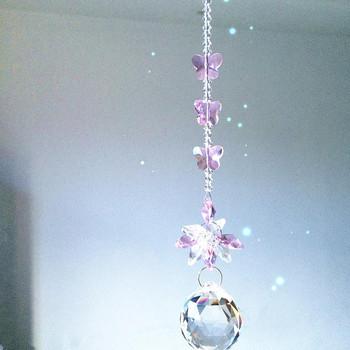 Chakra Spectra 1 sztuk różowy kolor kryształu szkło suncatcher zawieszki do dekoracji wnętrz boże narodzenie zawieszka na choinkę krople tanie i dobre opinie Kryształowy żyrandol W-111 30mm 255mm crystal glass suncatcher hanging pendants pink color fengshui K9 Crystal christmas tree home hanging decoration