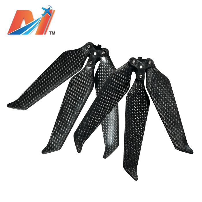 Maytech 3 blade Low noise propellers 8743 Foldable Carbon Fiber propeller for Mavic 2 pro or