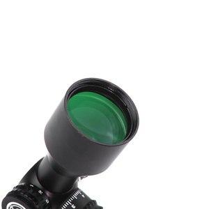 Image 4 - LUGER 3 9x40 portée de visée optique de chasse rouge vert Mil dot serrure éclairée portée de fusil tactique réticule Air Gun lunette de visée
