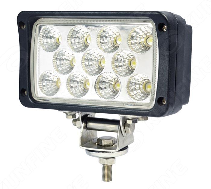 6.0 дюймов 33 Вт светодиодный свет 12 В ~ 30 В DC LED вождения для бездорожья свет для Лодка Грузовик прицепы внедорожник ATV светодиодный фонарь Водо...
