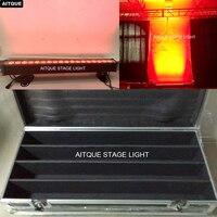 (4 лот/CASE) новый Свет этапа пятно света outdoor18x12w rgbwa 5in1 светодиодные прожекторы напольный Стены мыть с roadcase