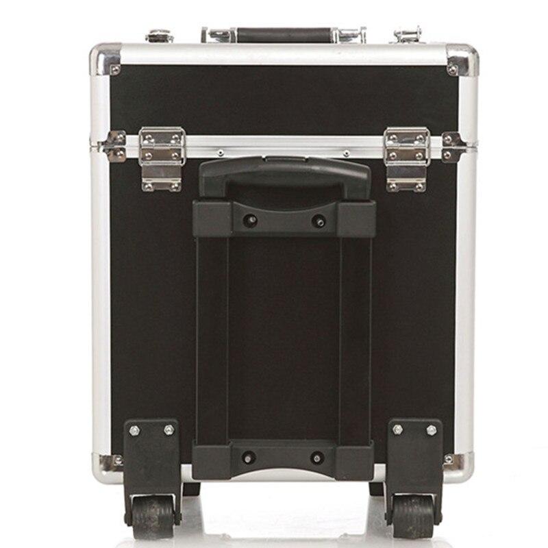 KUNDUI Högkvalitets stor resväska UNEQUAL Travel Trolleyväska - Väskor för bagage och resor - Foto 2