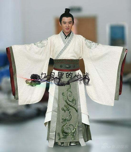Big Discount!free Shipping !unisex Chinese Ancient Emperor Prince Dramaturgic Embroider Dragon Robe Cosplay One Size Mr006