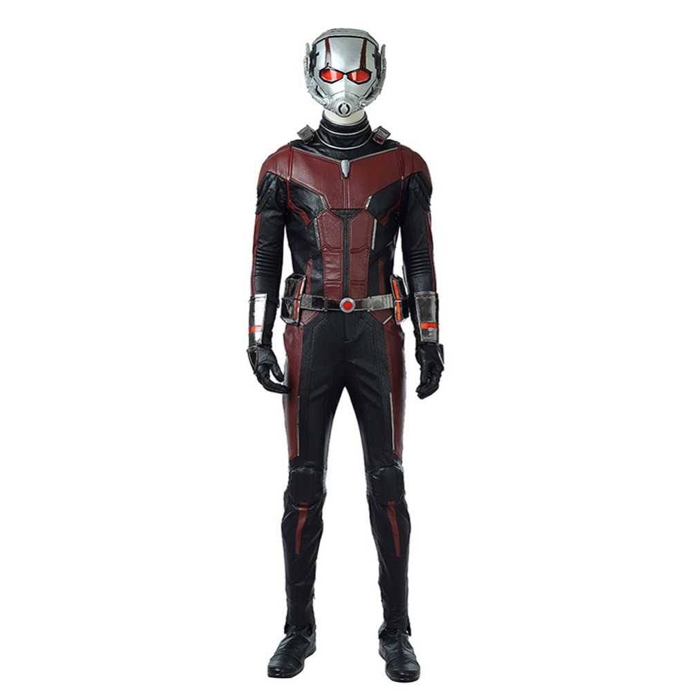 Ant man and the Wasp Ant Man Cosplay Costume Superhero