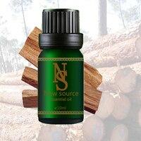 Gratis shopping100 % pure etherische oliën India geïmporteerde Sandelhout Essentiële Olie 10 ml Verhogen immuniteit Voorkomen veroudering Z45