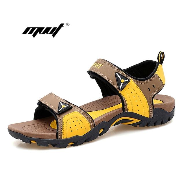 126e59c7e37 New Color Men s sandals Summer Outdoor Casual Shoes Flat Beach Sandals male  slippers for Men hommes sandalias