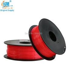 CREALITY 3D Cheap 3D Printer Filaments PLA Red Color Samples 1KG/roll 1.75mm for 3D Printer /3D Pen/Reprap/Makerbot