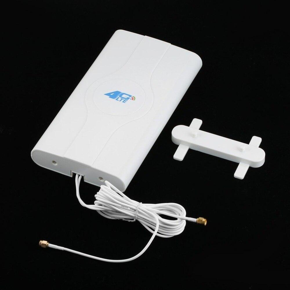 Antena MIMO LTE buena calidad interior rápida ardiente 3G 4G 88dBi con 2 piezas 2 M conector TS-9 Puerto Wifi antena