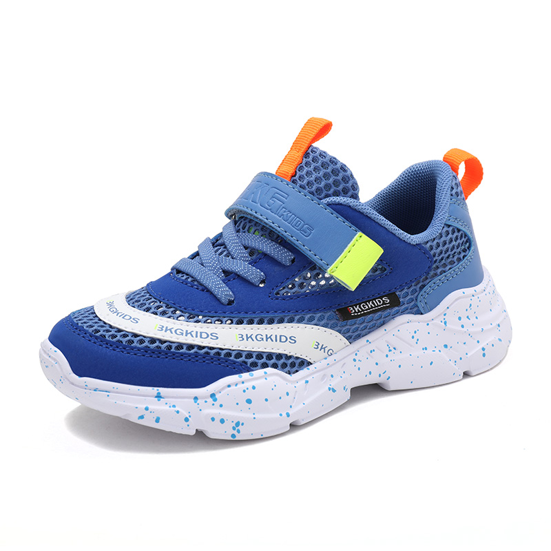 ULKNN Boys Shoes 2019 New Breathable Single Mesh Children's Sports Shoes Casual Leisure Boy 12 Years Old Pupil 15 Shoes