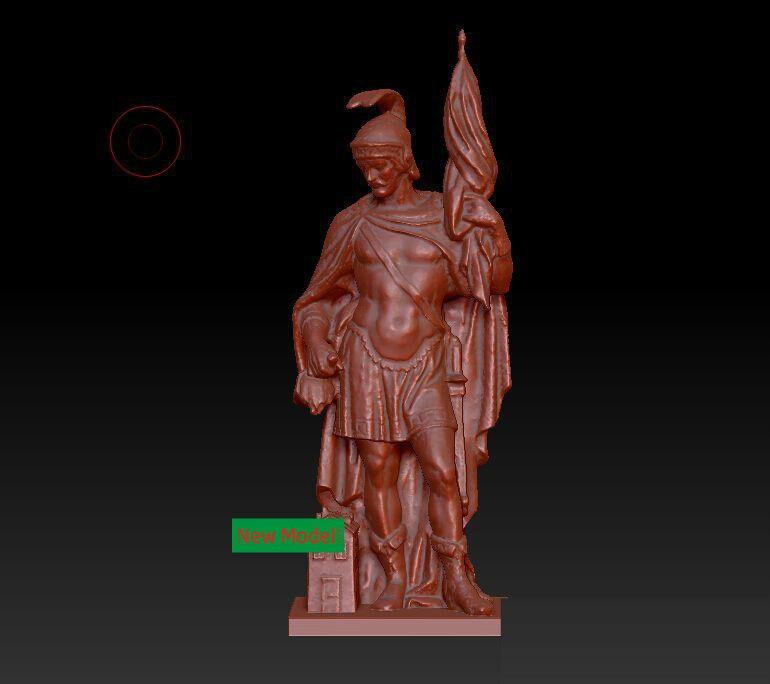 3D Model Stl Format, 3D Solid Model Rotation Sculpture For Cnc Machine Sankt Florian