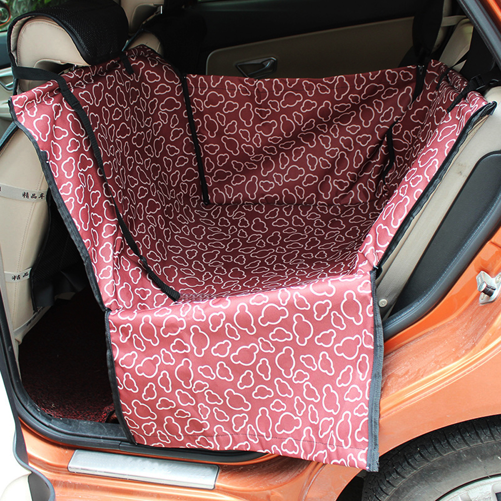 dog cat car seat cover safety pet waterproof hammock blanket cover mat car interior travel. Black Bedroom Furniture Sets. Home Design Ideas